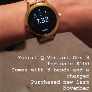 Fossil Q Venture Gen 3-Rose Gold